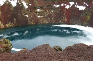 The fabulous colours of Kerið