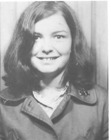 Here I am, aged 18, just arrived in Manchester - a whole exciting world before me!
