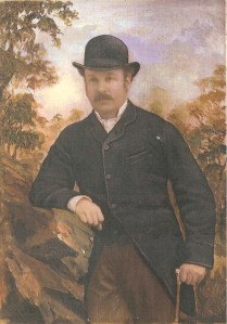My great-grandfather, Louis Walford, looking very handsome and dapper