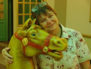 me and horsey