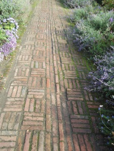 Not really a parterre, but just a lovely old path
