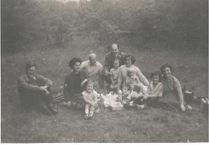 family at fleam dyke 1956 2 001