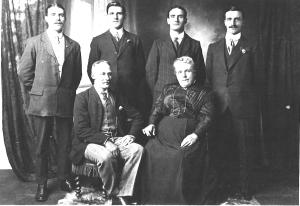 Matthews family, William and fanny