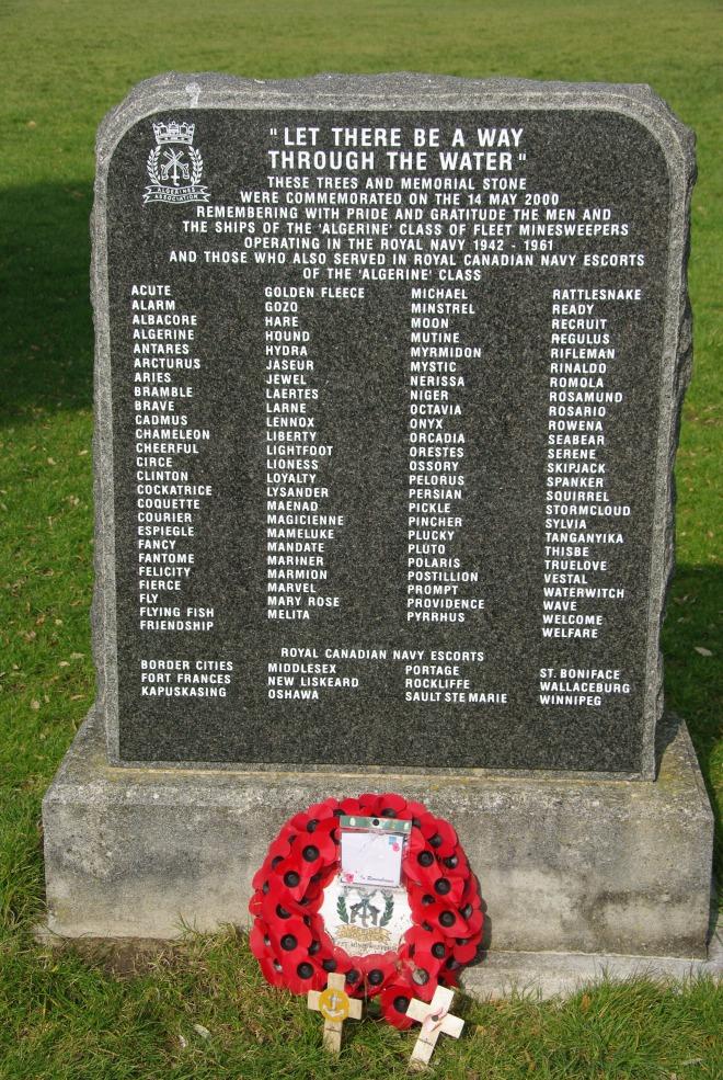 Algerine Memorial